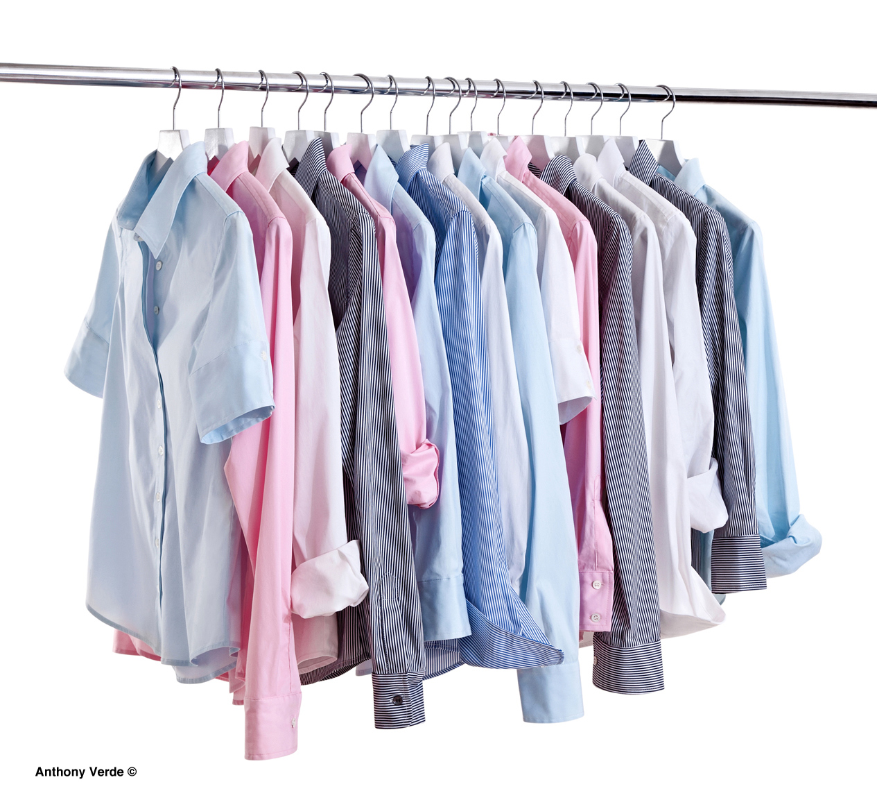 shirts-on-rack-product-photography