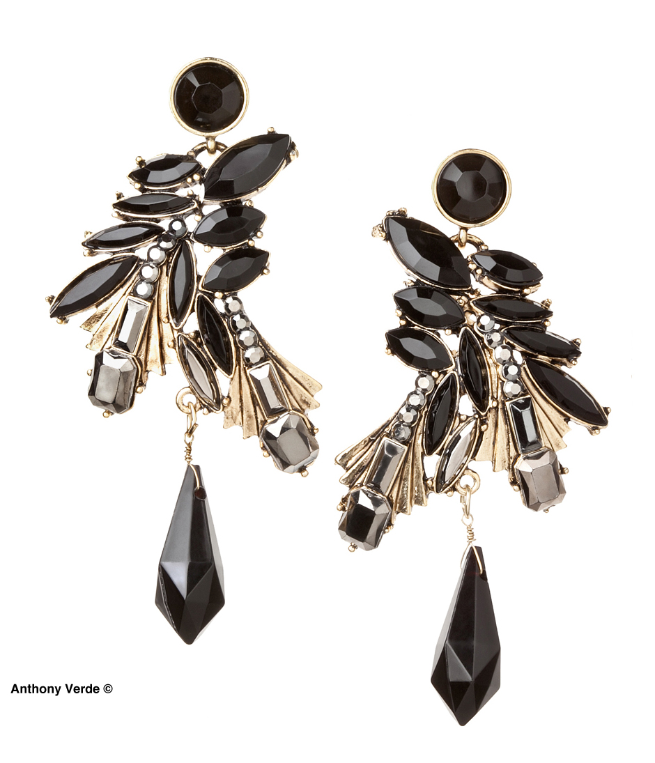 earings-black-stone-product-photography